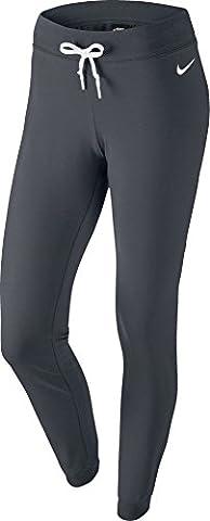 Nike Damen Hose Jersey Cuffed, grau/weiß, S,