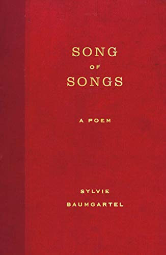 Song Of Songs A Poem English Edition Ebook Sylvie