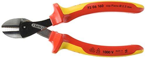 Knipex 73 06 160 SB X-Cut Kompakt-Seitenschneider Länge: 241 mm