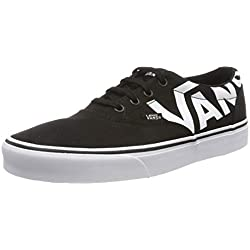Vans Doheny, Zapatillas para Mujer, Negro ((Big Logo) Black/White Ryh), 38.5 EU