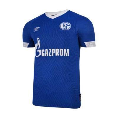 Umbro Herren FC Schalke 04 Heim 2018/2019 Teamtrikot, blau/Weiß, XL -