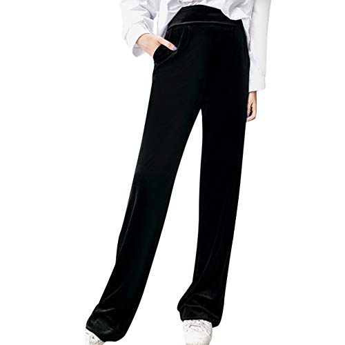 Cigav Encommium Letalske Druzbe Negro Paolian Pantalones De Mujer Verano 2018 Pantalones De Vestir Encaje Palazzo Cintura Alta Pantalones Perspectiva Communitygardenclubofcohasset Org