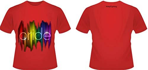 0b6d64ea7719b CTO LGBT tee Casual Rainbow Slim Fit Personalised T-Shirt Retro Beach Cool  Polyester