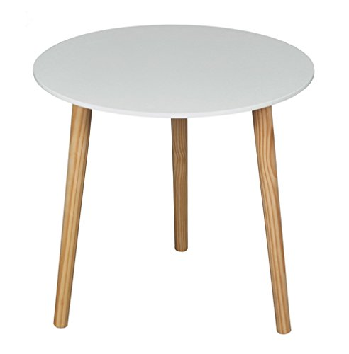 ASPECT  Wooden Side/End/Lamp/Coffee Table, 48 x 45 cm, White