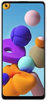Samsung Galaxy A21s Dual SIM 64GB 4GB RAM 4G LTE (UAE Version) - Mystic White