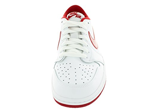Nike Air Jordan 1 Retro Low Og, Chaussures de Sport Homme, Taille white, varsity red-white