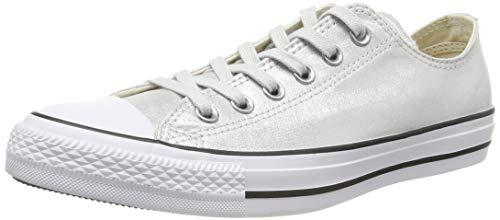 Converse Damen Chuck Taylor All Stars Sneaker, Silber (Mouse/Black/White 000), 39 EU (Silber All Converse Star Damen)