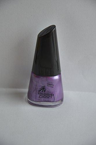 Manhattan Limited Edition Birthday Colours Nail Polish Nagellack Nr. 014 Purple Pearls Farbe: Lila...