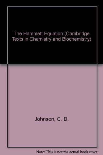 the-hammett-equation-cambridge-texts-in-chemistry-and-biochemistry