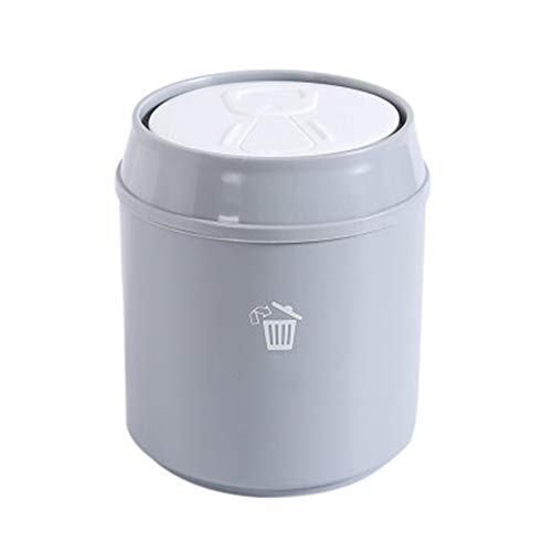 WLIXZ Kleiner Mülleimer, Desktop-Mülltonne, für Wohnzimmer-Schlafzimmer im Wohnzimmer,3