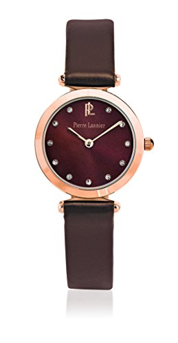 Pierre Lannier - 031L944 - Elegance Style - Montre Femme - Quartz Analogique - Cadran Marron - Bracelet Cuir Marron