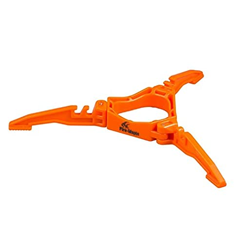 Outdoor Camping Hiking Cooking Gas Tank Bracket Bottle Shelf Cartridge Canister Stand Tripod?Folding