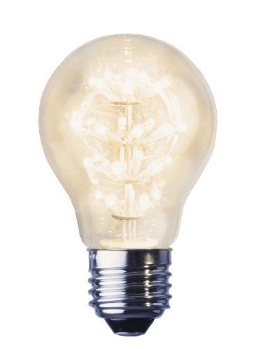 Best Season 358-11 Decoline Ersatzglühbirne LED, E27, 2100 K, klar, Rundform, 230V