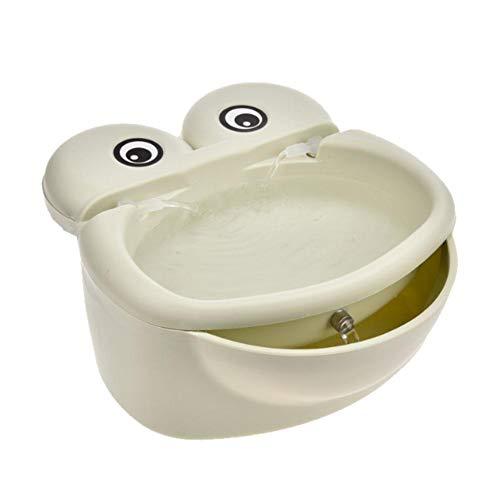 Wasserbrunnen für Katzen - Gesunde und hygienische Blumenbrunnen Super leise automatische elektrische Wasserschale für Hunde, Katzen, Vögel und Kleintiere - Wasserschale Hund Brunnen