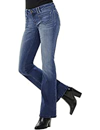 ONLY Damen Hose Onlnew Ebba Low Flared Jeans BB REA6657 Denim Bootcut b3e2b36cb4