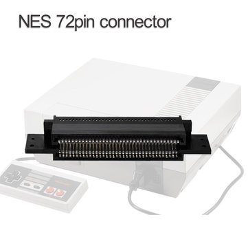 Generic 72 Pin Game Cartridge Slot Connector Replacement for Nintendo NES