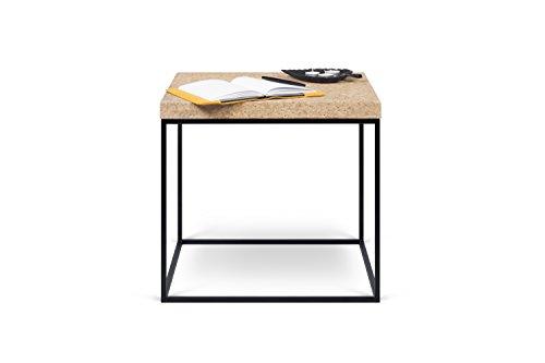 TemaHome 9003.627859 Harvest Table d'appoint, Bois, Noir, 50 x 50 x 47 cm