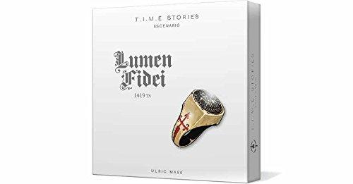 Asmodee Juego de Cartas T.I.M.E Stories: Lumen Fidei (ADESCTS06ES)