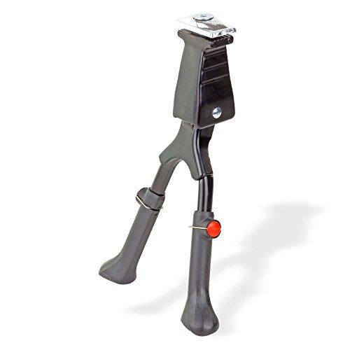 DEMA bicicleta soporte Dos piernas Altura Regulable