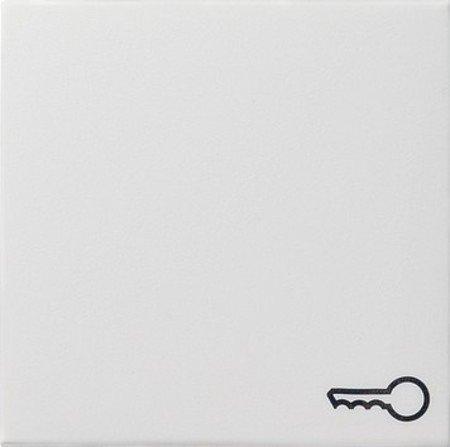 Gira Wippe 028703 Symbol Tür System 55 reinweiss, Weiß