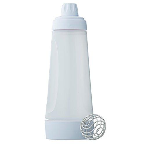 Whiskware Teig Mixer - Komplettlösung für Pfannkuchen, Pancakes, Waffeln, Crêpes und mehr | mit BlenderBall Schneebesen | BPA frei | 1065ml