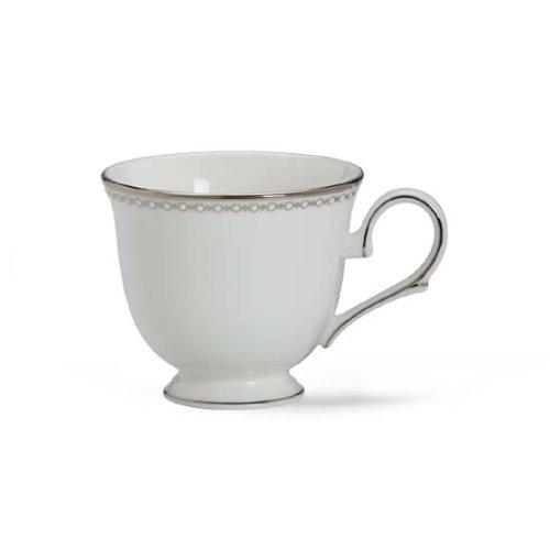 (Cup, Lenox Pearl Platinum Fine Dinnerware) - Lenox Pearl Platinum Bone China Cup Lenox Pearl Platinum Bone China