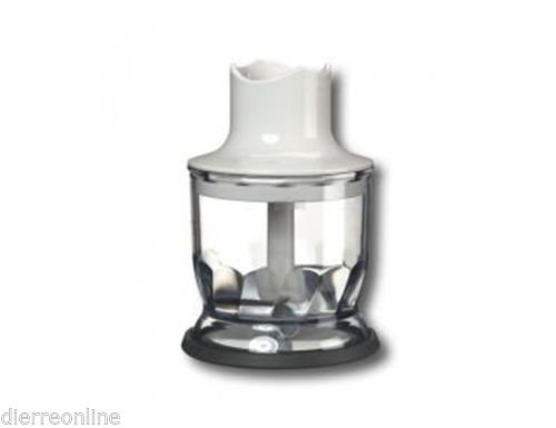 MINI TRITATUTTO BICCHIERE 350 ML ACCESSORIO MULTIQUICK MR570 MR5550 MR540 4191 BRAUN RICAMBIO ORIGINALE
