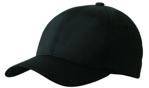 High Performance Flexfit Cap (CoolDry schwarz / S-M)