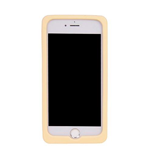 COOLKE 3D Fashion Klassische Karikatur weiche Silikon Shell Schutzhülle Hülle case cover für Apple iPhone 7 Plus (5.5 inches) - 010 013
