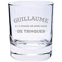Verre à Whisky Personnalisable - Une Bonne Raison de Trinquer - cadeau original