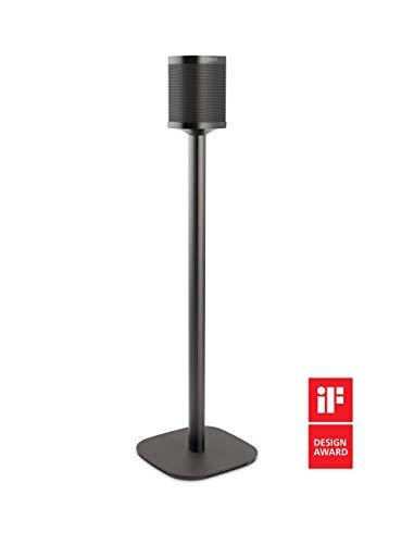 Vogel\'s Sound 4301 Bodenständer standfuss für Sonos One und Play:1, Schwarz