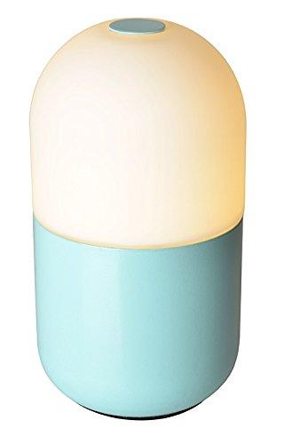 Lámpara gelule recargable, Azul