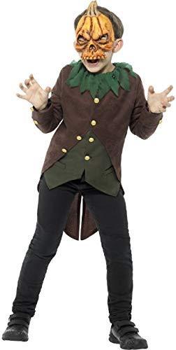 Fancy Me Jungen Mädchen Goosebumps Attack of The Jack O Laternen Pumpkin Halloween Horror Unheimlich TV Buch Film Kostüm Kleid Outfit - Multi, 7-9 ()