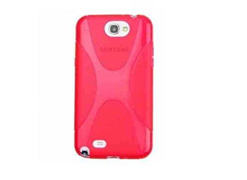 Preisvergleich Produktbild C63 ® X,  rot-Line Gel Silikon Schutzschale für Samsung Galaxy S4 Mini / HOXO Display Paket enthalten [] Displayschutzfolie