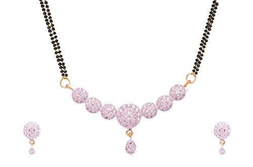 Sitashi American Diamond Mangalsutra Set For Women