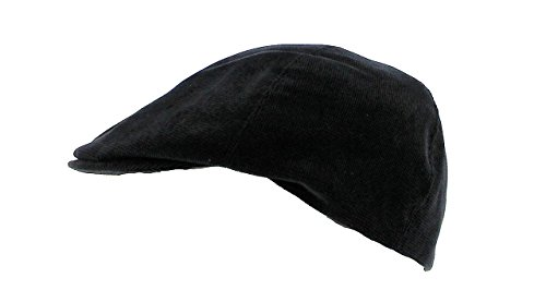 Votrechapeau Westport - Casquette Irlandaise Classique Noir