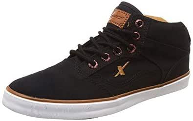 Sparx Men's Black and Tan Sneakers - 6 UK/India (40 EU)(SC-282)