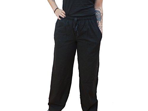 Schwarze Lange Gewand Tasche (Trollfelsen Mittelalter Bundhose