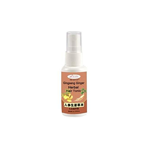 Cyeer Haarwachstum Serum,Heiß Ginseng Ingwer Sprühen Haarwuchs Natürlicher Haarausfall Behandlung (10ml)