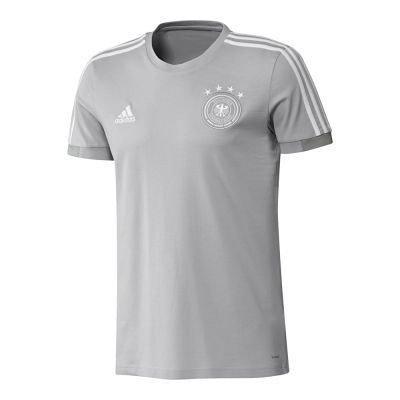 adidas Kinder DFB Tee T-Shirt, Two f17/Mgh solid Grey/White, 128