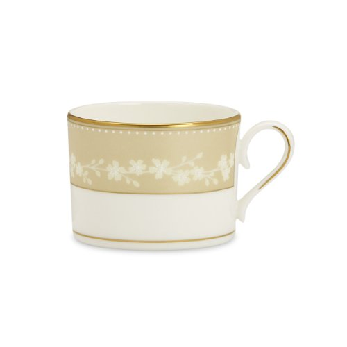 Bellina Cup ((Cup, Lenox Bellina Fine Dinnerware) - Lenox Bellina Gold Cup)
