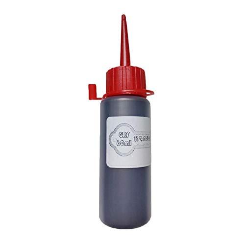 Haodene lubricante Grafito en Polvo 60ML para ntérieur Cerrojo de Puerta Core Nano Grafito lubricante
