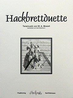 HACKBRETTDUETTE - TANZMUSIK VON W A MOZART - arrangiert für zwei Hackbretter [Noten / Sheetmusic] Komponist: MOZART WOLFGANG AMADEUS
