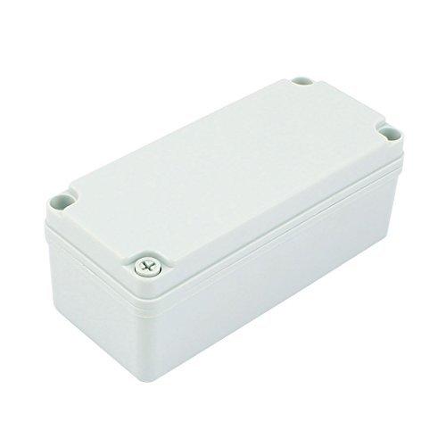 DealMux 180mm x 80mm x 70mm Plastic Waterproof Sealed Enclosure Case DIY Junction Box -