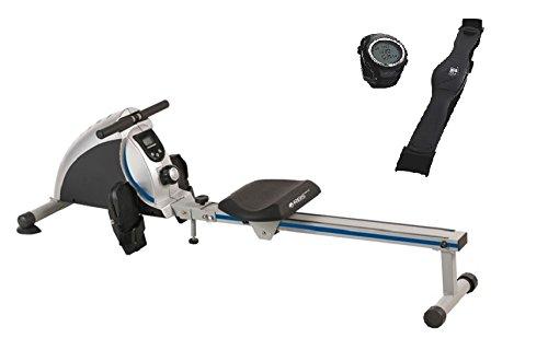 Royalbeach Cardio Trainer Rudergerät Sorrento mit Pulsuhr