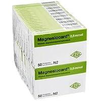 MAGNESIOCARD 2,5 mmol Filmtabletten 1000 Stück preisvergleich bei billige-tabletten.eu