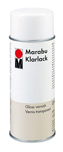 Marabu 220218000 - Klarlack, 400 ml, transparent
