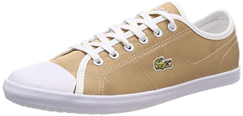 Lacoste Ziane Sneaker 119 3 Cfa, Zapatillas para Mujer, Dorado Gld/Wht Gw3, 39 EU