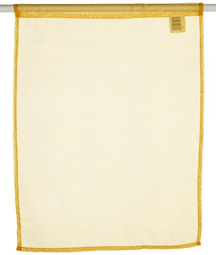 Tende A Vetro 45 Cm.Lovely Casa Ra1290008 Lisa Coppia Di Tende A Vetro In Cotone