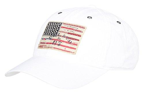 2b6c8431423b Polo Ralph Lauren Herren Baseball Iconic Cap-Hat (Weiß)